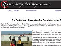 california academy of tauromaquia